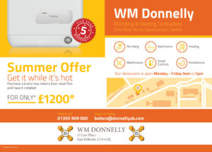 A5_WMDonnelly_SummerOffer_flyer_v2.indd