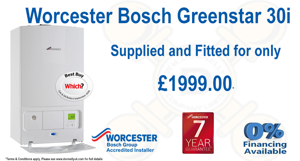 Worcester Bosch Boiler Offer Wm Donnelly Uk